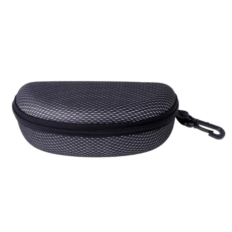 Eyewear Accessories Back To Search Resultsapparel Accessories New Portable Zipper Eye Glasses Clam Shell Sunglasses Hard Case Protector Box High Quality Goods