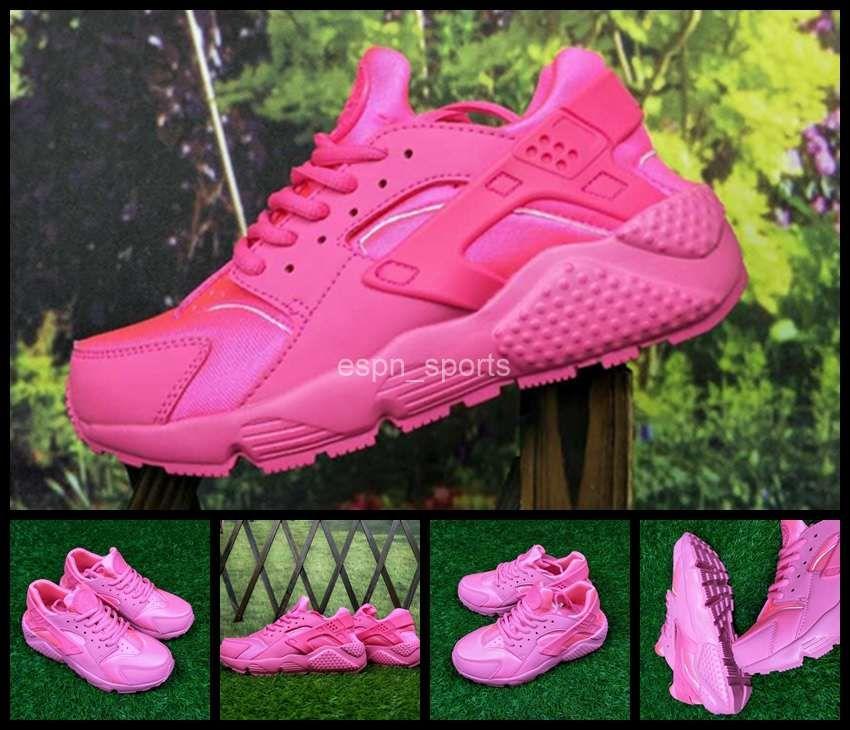 2017 New Air Huarache I Woman Running Shoes Cheap Pink Women ... 50a5b0d84305