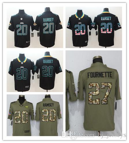 2018 Cheap 2018 New Limited 20 Jalen Ramsey Jacksonville Jaguars Jersey 27  Leonard Fournette 5 Blake Bortles 15 Allen Robinson Football Jerseys From  ...