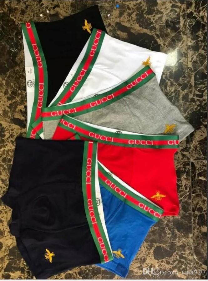 b1b5d80d2d Großhandel 6 Stücke Neue Männer Boxershorts Sexy Unterhose Junge Weiche  Bequeme Mode Elastische Berühmte Marke Boxer Underwear Für Männer Von  Tina920, ...