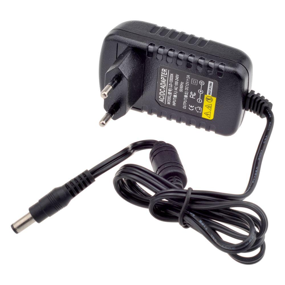 12V 2A AC 100V-240V Converter Adapter DC 12V 2A 2000mA Power Supply EU UK  AU US Plug 5 5mm x 2 1mm for CCTV IP Camera
