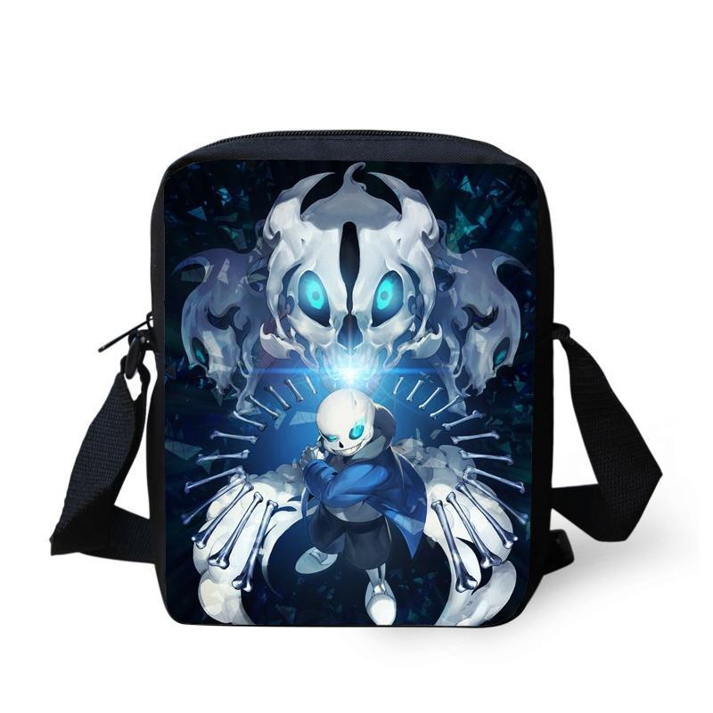 Anime Undertale Mini Messenger Bag Children School Bags Boys Girls Shoulder  CrossBag Kids Schoolbags Men Daily Bags