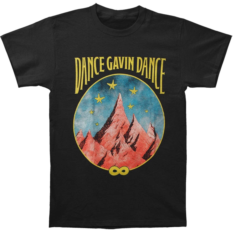 d97547af1 Dance Gavin Dance Men'S Mountain Stars T Shirt Black 2017 New Short Sleeve  Casual T Shirt Tee Print T Shirt Men Hot Top Tee T Shirt Shopping Online T  Shirt ...