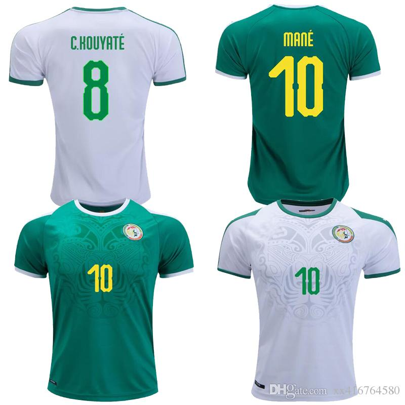 2019 2018 2019 World Cup Senegal National Team Home Away C.HOUYATE MANE 18  19 Football Soccer Jersey Shirts From Xx416764580 16cfcb29e