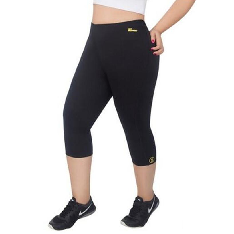 ad30537a08763 2019 Womens Slimming Pants Hot Thermo Neoprene Sauna Body Shaper Hot Shapers  Plus Size Weight Loss Compression Slimming Capri Panties From Merrylady