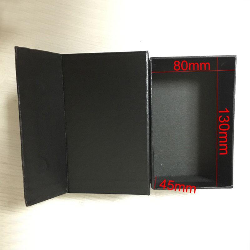 No Logo Papel Evaginable de embalaje con la caja de embalaje caja de regalo caja de regalo tamaño rectangular 145x90x52MM