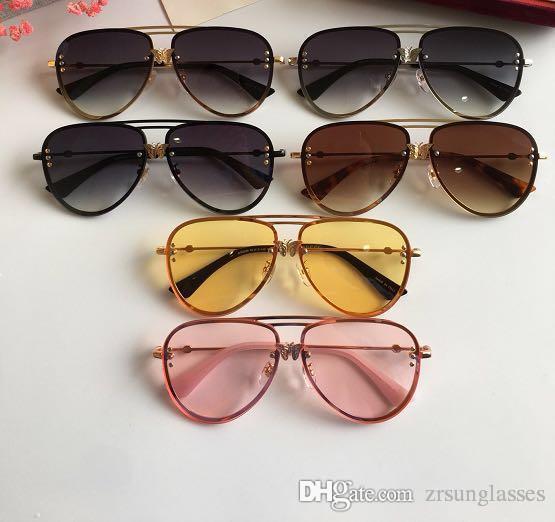 894e624d31b Großhandel Heißer Verkauf Sonnenbrille Frauen Markendesigner Gucci Mode  Sommer Stil Mit Den Bienen Sonnenbrille GG2238 Frauen Sonnenbrille Mit Box  Von ...