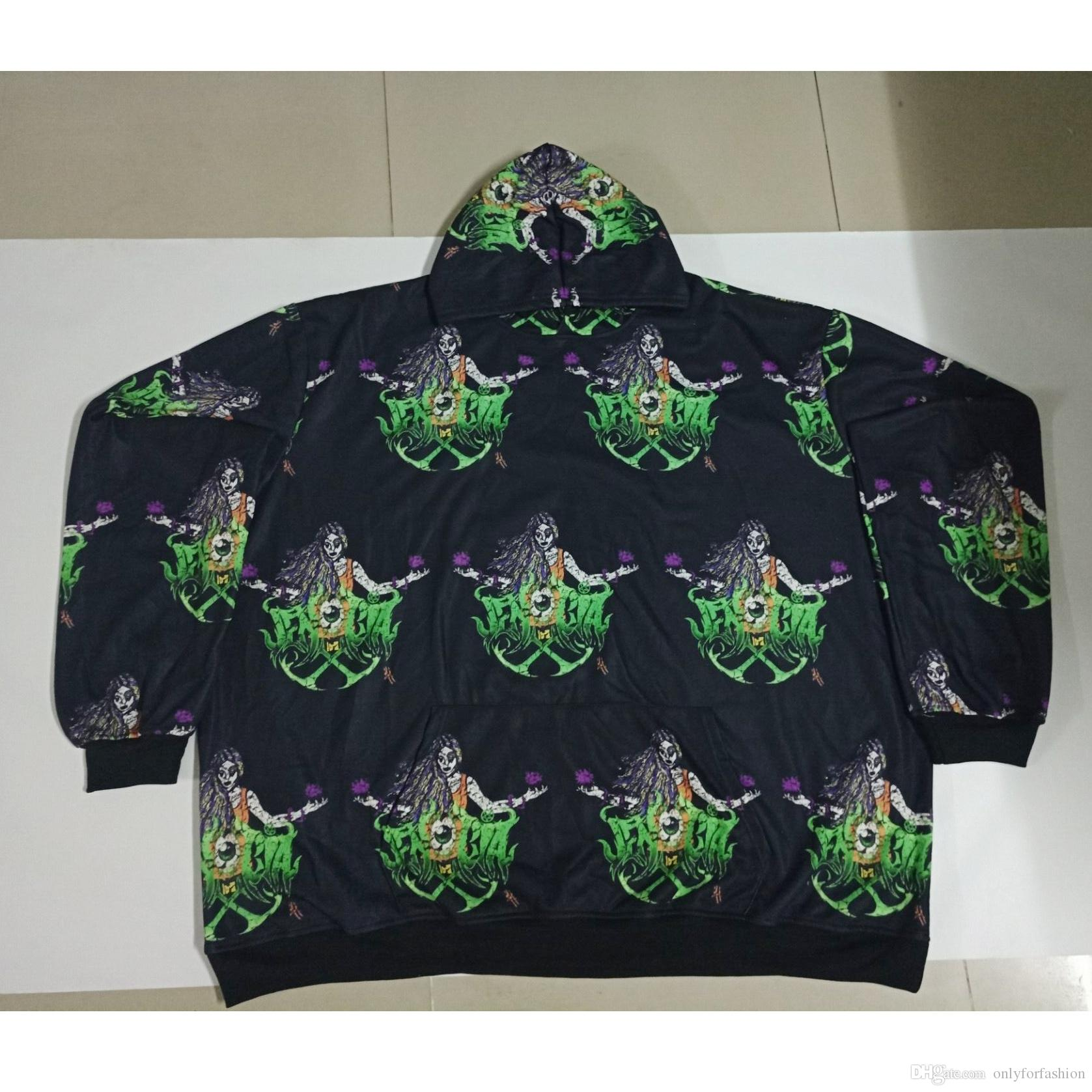 bac506e14 REAL American USA Size Sorceress 3D Sublimation Printing Hoodie Plus Size  4XL 5XL 6XL 3D Sublimation Print Plus Size Hoodie Online with $49.11/Piece  on ...