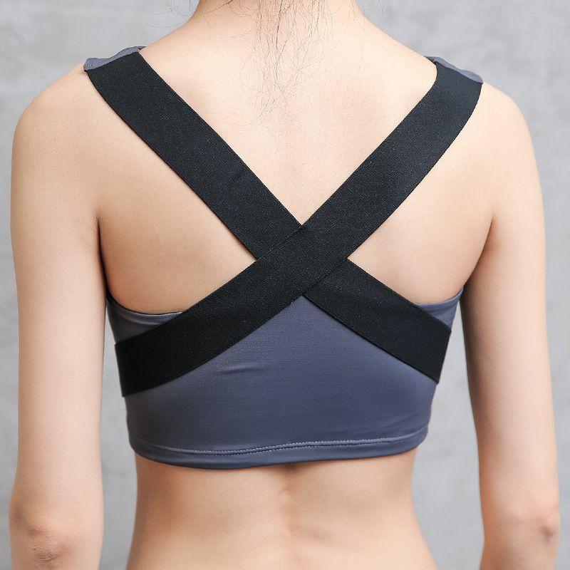 e734002bc6 EW Womens Sport Bra Fitness Yoga Running Vest Underwear Padded Crop ...