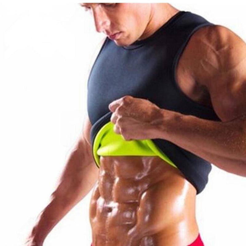8eda73da993d9 Mens Shapers Slimming Body Muscle Build Up Corset Waist Trainer Belt ...