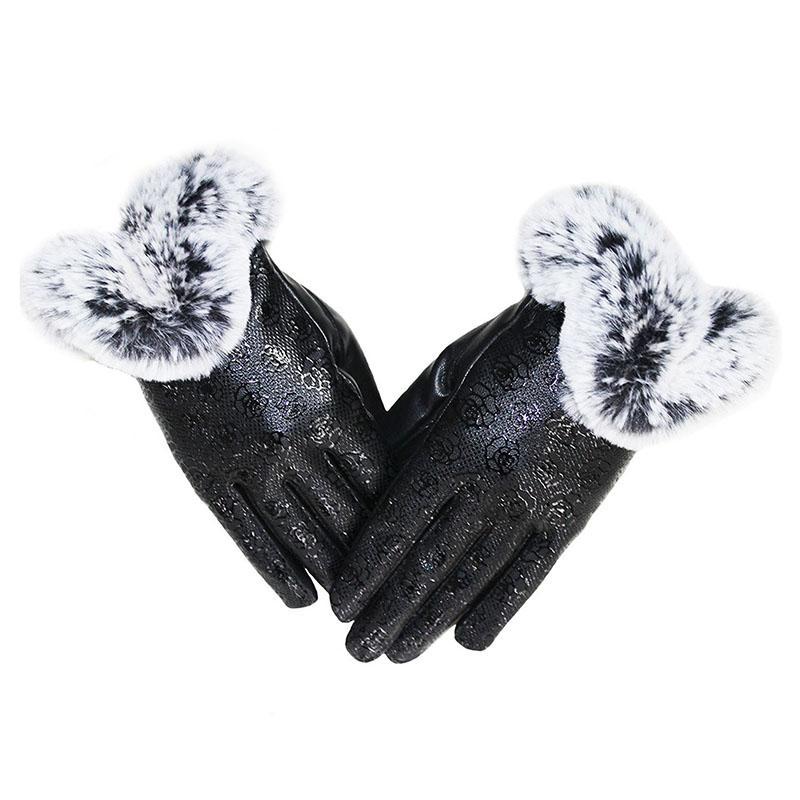 78ebcc77fa5601 Großhandel Kingstar Frauen Pu Leder Handschuhe Texting Touch Screen Warme  Winter Fell Fäustlinge Von Navyjewelry, $46.4 Auf De.Dhgate.Com | Dhgate