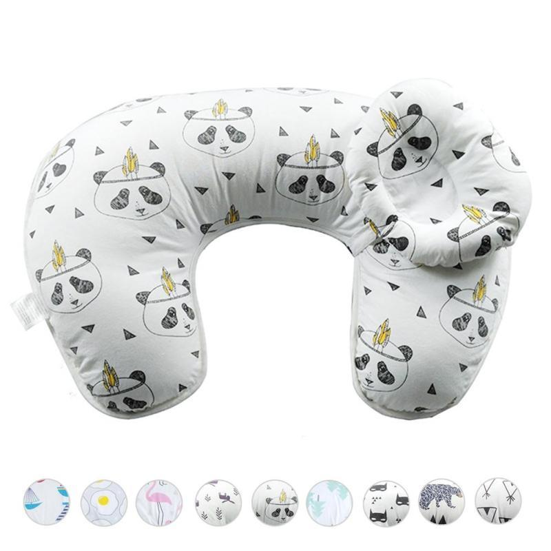 Nursing Pillow Slipcover Baby Gray