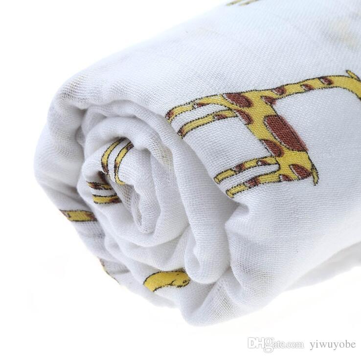 Coperta dell'infanzia di Hotsale del bambino 5 in 1 vendita calda della copertura di cura del bambino che mescola la coperta del muschio che dorme la coperta di mussola