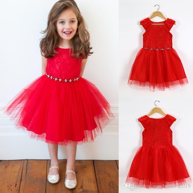Großhandel Infant Baby Mädchen Tutu Kleid Vestidos Kinder Nette ...