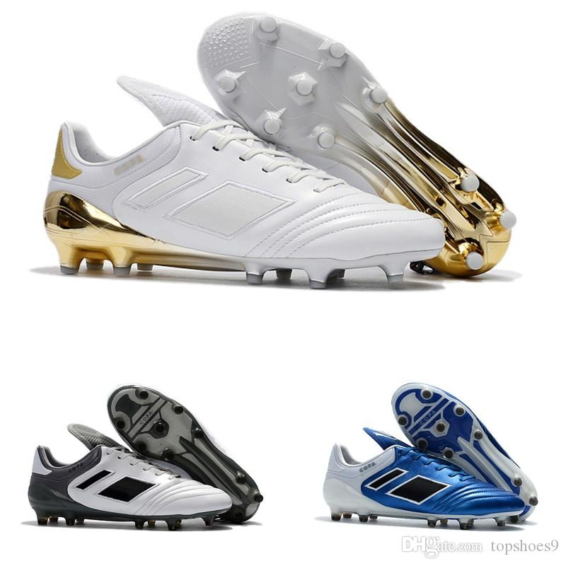 2019 2018 New Copa 17.1 FG Mens Outdoor Soccer Shoes Cheap High Genuine Leather  Soccer Cleats Best Quality Football Boots Shoes From Topshoes9 197d36cf4427