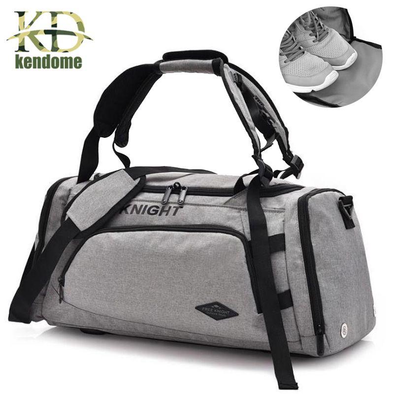 Men s Sports Training Gym Shoulder Bag Multifunction Fitness Yoga ... 5c0a71a2a7