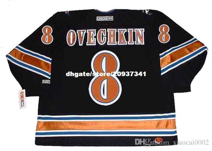 b577742a6ff 2018 Wholesale Mens Alexander Ovechkin Washington Capitals 2005 Ccm Vintage  Home Cheap Retro Hockey Jersey From Xiaocai0002