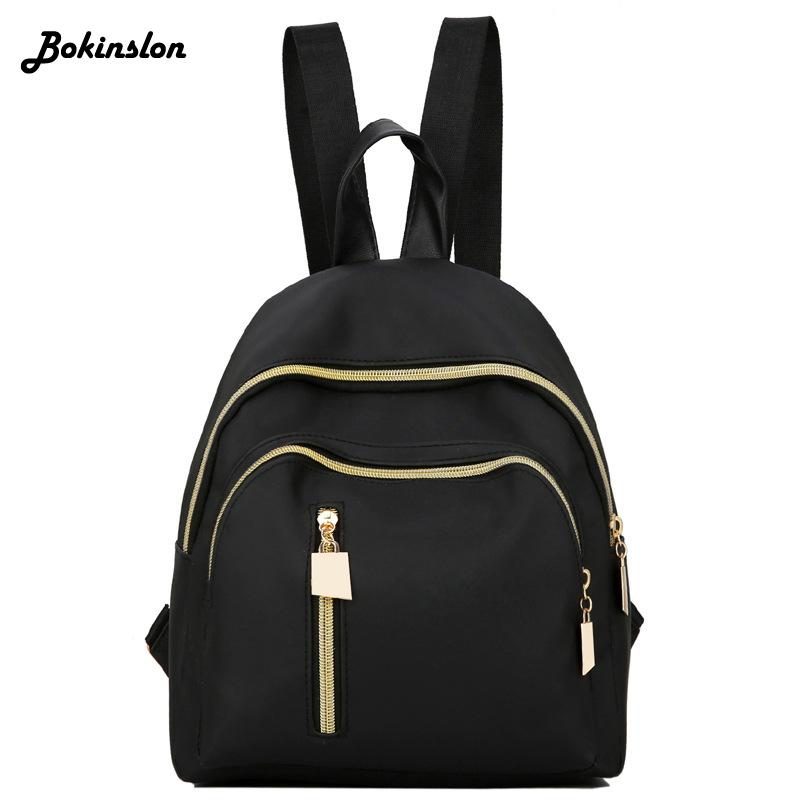 Small Womans Bag Backpack Fashion Pu Leather Backpack Ladies Bag Casual  Waterproof Nylon Women Water Backpack Mesh Backpack From Paradise11 38cb377b72816