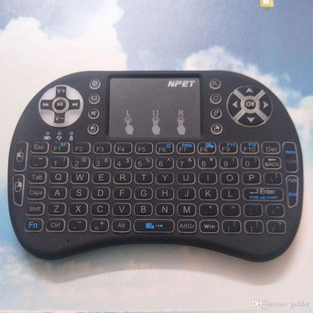 Wireless keyboard with touchpad k400 logitech.