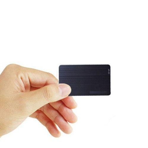 8GB Süper ince kart Şekilli Ses kaydedici