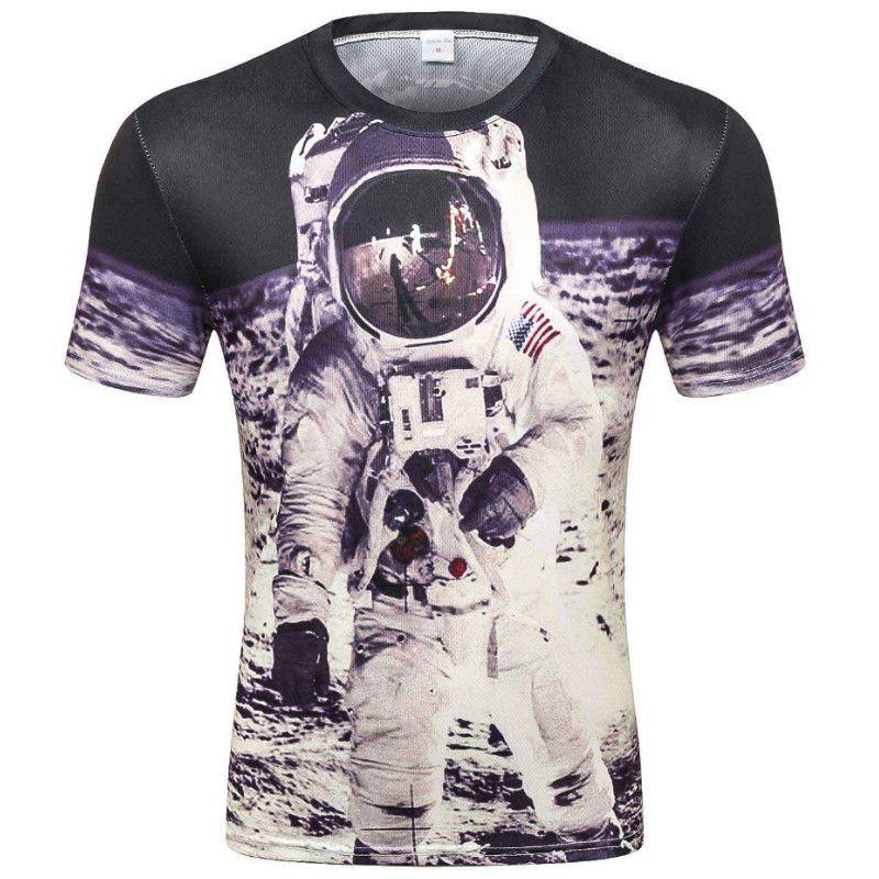 e7519563031e 2019 Space Galaxy T Shirt For Men 3d T Shirt Funny Print Cat Horse Shark  Cartoon Fashion Summer T Shirt Tops Tees Plus Size From Kara 1