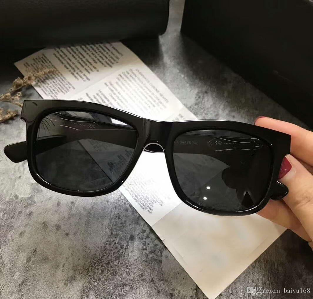 e21649bdb9 Cool Mens Black Glasses Stains Polarized Sunglasses Black W  Silver Frame  And Black Sonnenbrille Designer Sunglasses Summer OBARYDOSE Sunglasses Sale  Kids ...