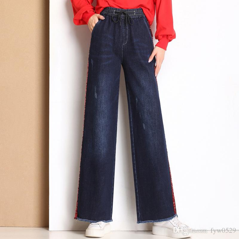 071e35e8585 2018 New The Mogan Women's Basic Slim BOOTCUT JEANS Wide Leg Pants 0 ...