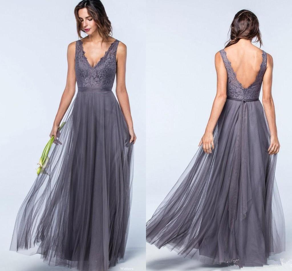 Perfecto Vestidos De Dama De Peso Ligero Colección - Vestido de ...