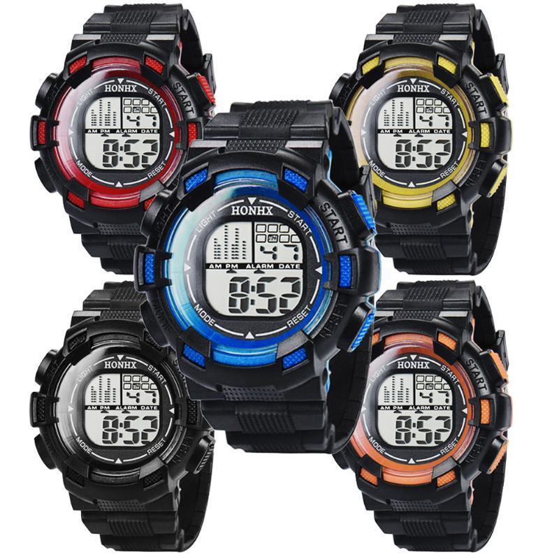 491968ff953 Compre Multifunções Esporte Relógio Homem Relógio Jovem Menino Relógios De  Pulso De Quartzo Estudante Infantil Digital À Prova D  Água Relógios De  Pulso ...