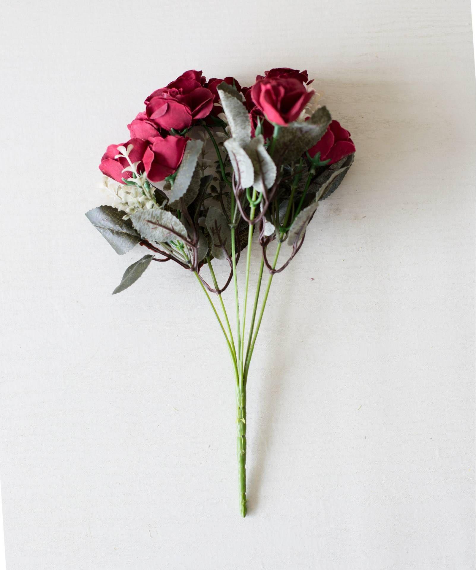 Künstliche Gefälschte Rosen Blume Für Hochzeit Auto Ehe Zimmer Dekoration DIY Garland Home Dekorative Gefälschte Blume