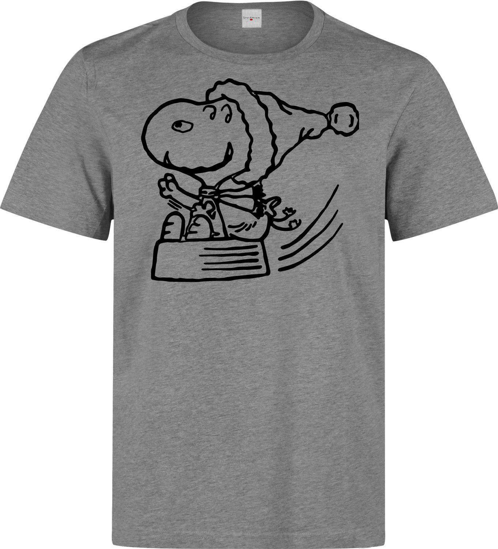 Compre Natal Snoopy Personagem De Desenho Animado Dos Homens Mulher  Disponível Camiseta Cinza De Beidhgate03 40473be0ad8