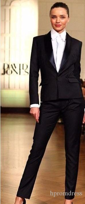 Acquista 2018 Pantalones Mujer Nuovi Smoking Su Misura Moda Abiti Da Donna  Slim Fit Office Lady Wear Donna Casual Dress Giacca + Pantaloni A  80.4 Dal  ... 53c7a2ce1d3