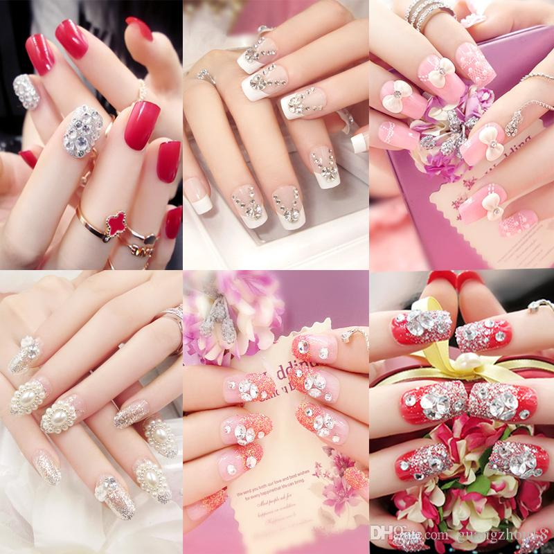 Children'S False Nails Abstract Animal Motifs Of Nail Art Products ...