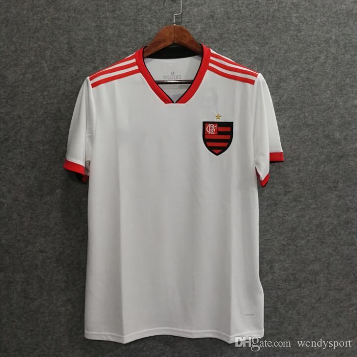 4a3efcdda 18 19 Flamengo Away Soccer Jersey GUERRERO DIEGO EDERSON MANCUELLO ...