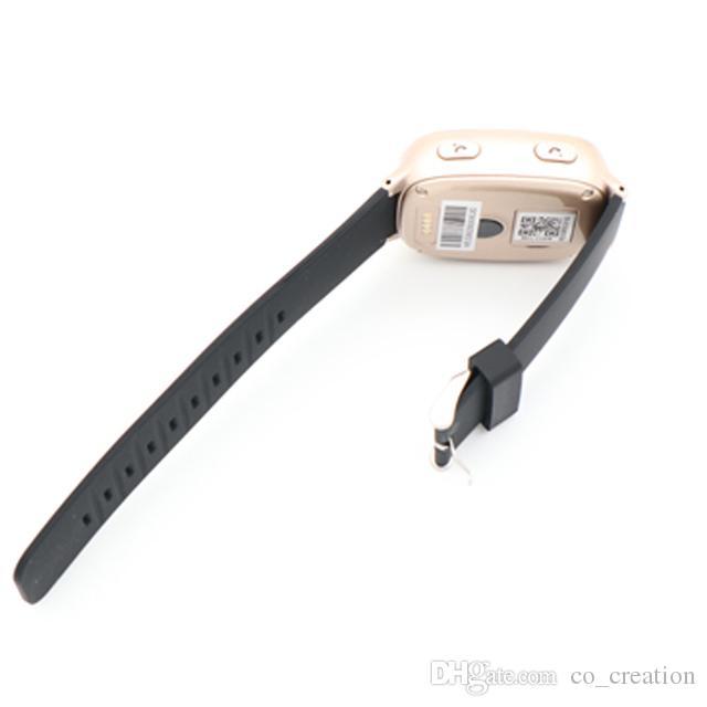 D100 Smart Watch LBS WIFI Positioning Sos Anti Lost Kids Gps Heart Rate  Sport Elderly Kids Smart Watch GPS