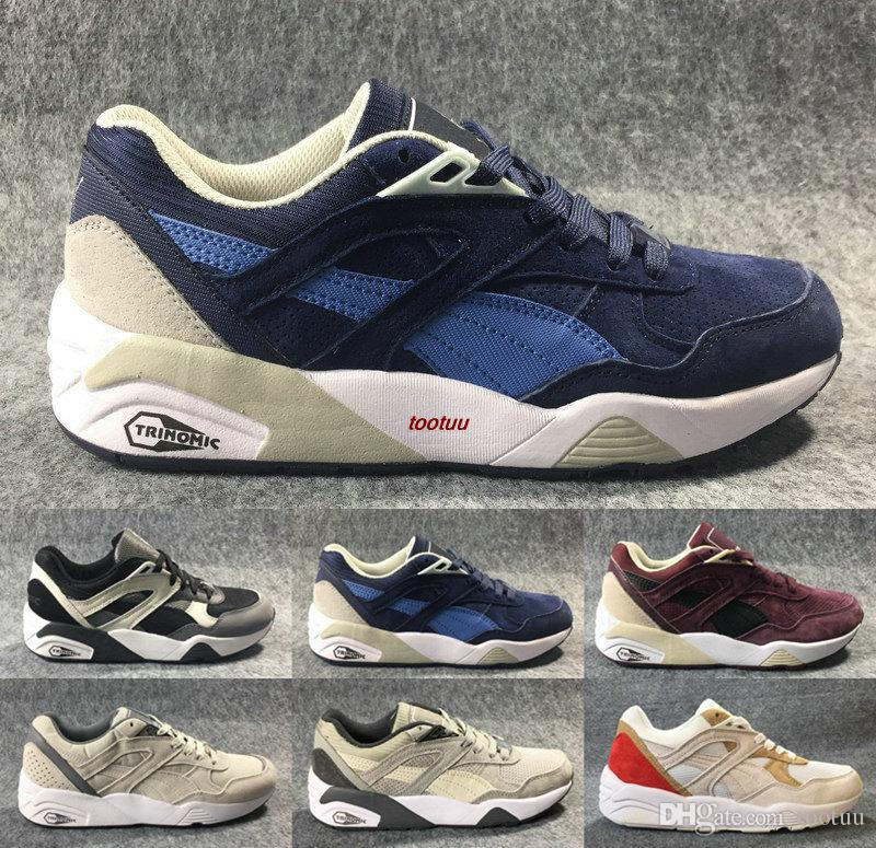 websites for sale Japan Limited Sale Global Offering R698 trinomic polly pack YINGYANG Shoes Men sports trainers Jogging SneakerS For Mens Running Shoes 40-45 discount shop offer choice cheap online qpO71YiME