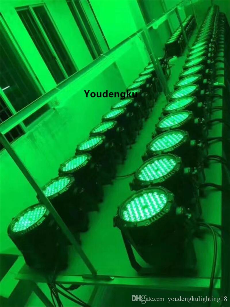 rgbw led spot par light rgbw 4 en 1 ip65 par 64 led ce rohs Waterproof 54 3w led par