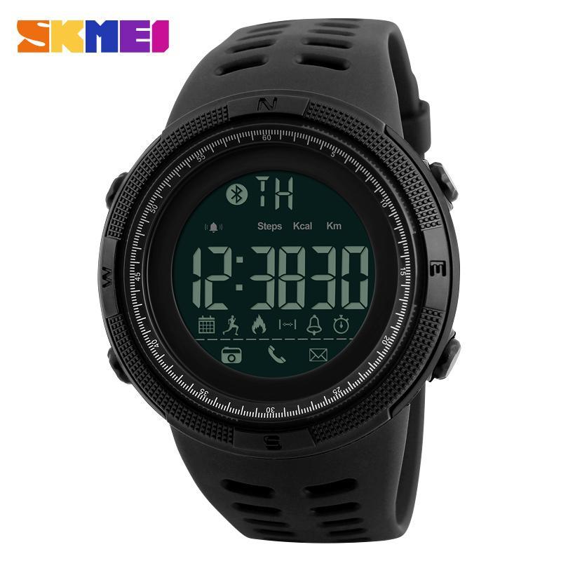 cc1860d3020e Compre SKMEI Hombres Reloj Inteligente Crono Calorías Podómetro Multi Funciones  Relojes Deportivos Recordatorio Relojes De Pulsera Digitales Relogios 1250  A ...