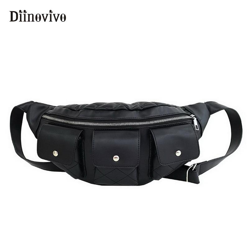 a46daa9038b7 Wholesale Brand Luxury Leather Fanny Pack The Motorcycle Women s ...