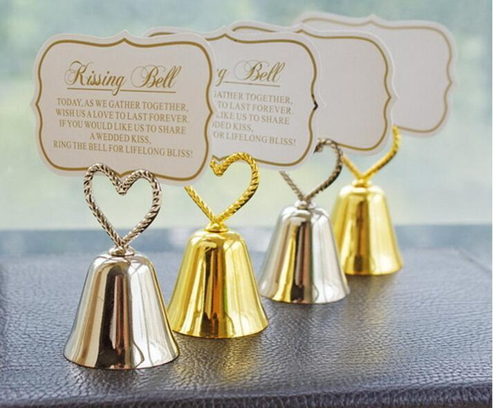 2019 Wedding Favor Party Favors Kissing Bells Place Cardphoto