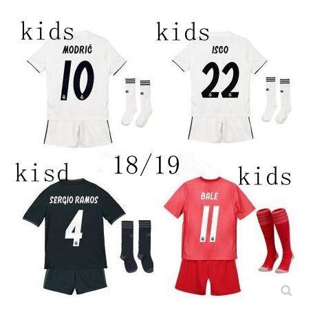 Equipaciones De Futbol Real Madrid Kids 2019 Camisetas Realmadrid ... cab3ae5339047