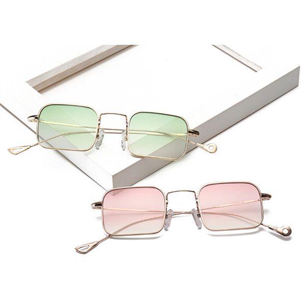 c75cbf3297 Square Vintage Steampunk Sunglasses Women Brand Design Men Retro ...