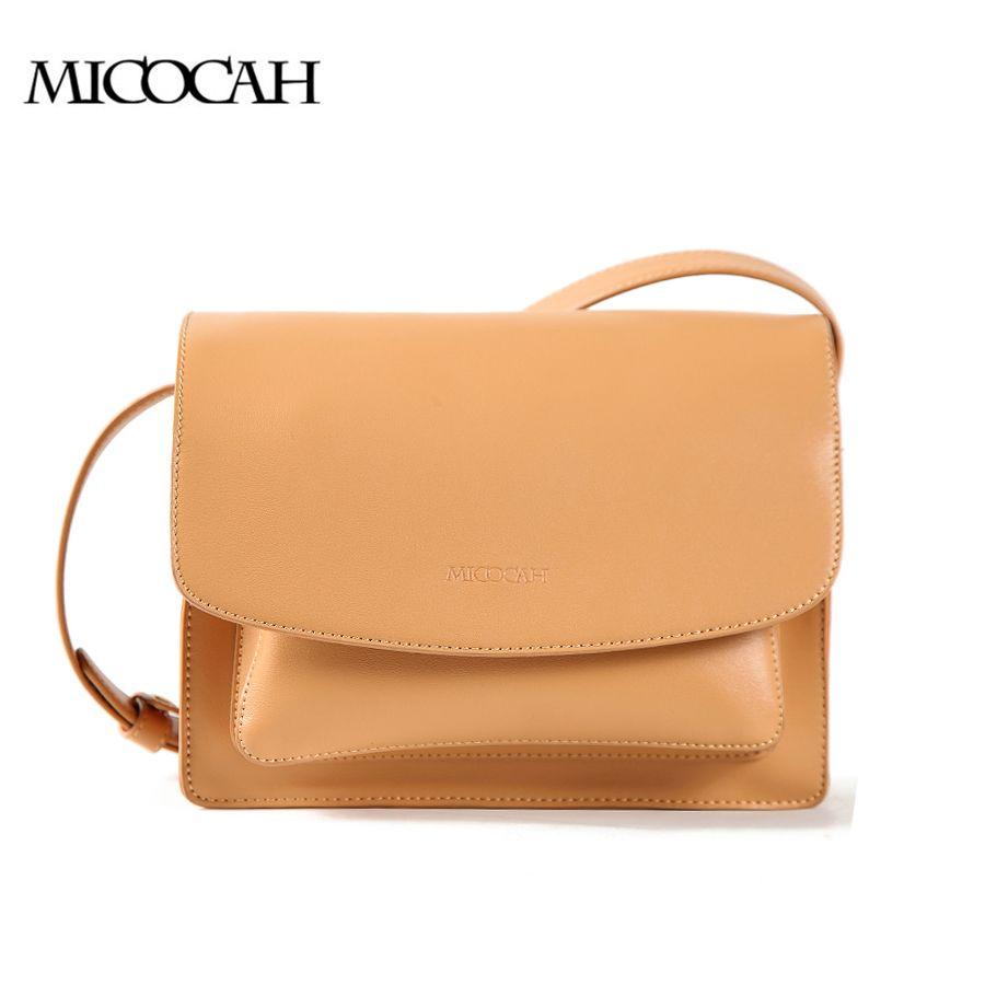 MICOCAH Women Cross Body Bags PU Leather Bag Fashion Design Brown  Black  HSC119 ef4d8558e3972