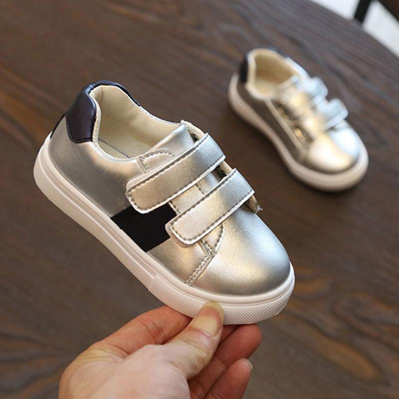 Acquista Stile Di Marca Ragazzi Ragazze Sneakers Bambini Prescolare Scarpe  Casual Autunno Scarpe In Pelle Sapato Infantil Menina Sepatu Anak A  25.16  Dal ... 738b074645f