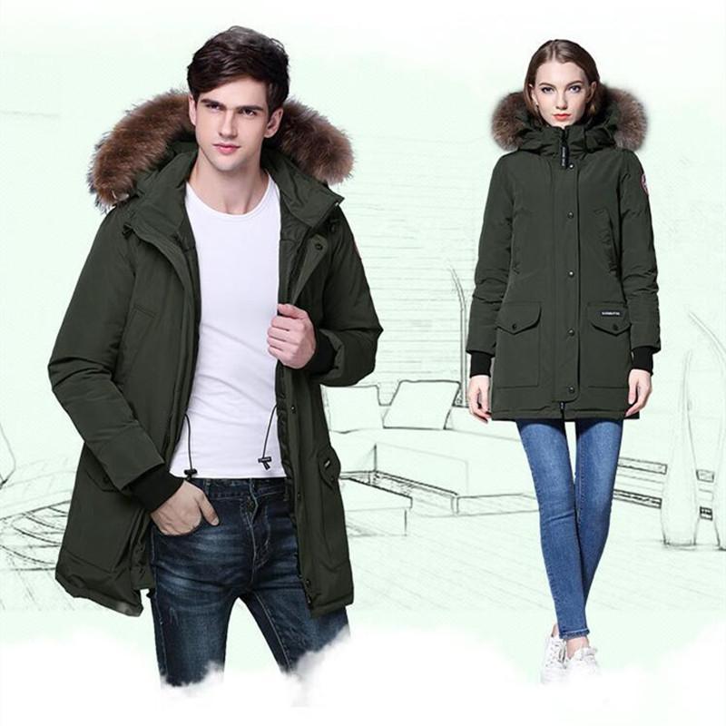 cd7367e44c0 Couple Winter Jackets Thick Outwear Plus Size Mens Parkas Downs Plus ...