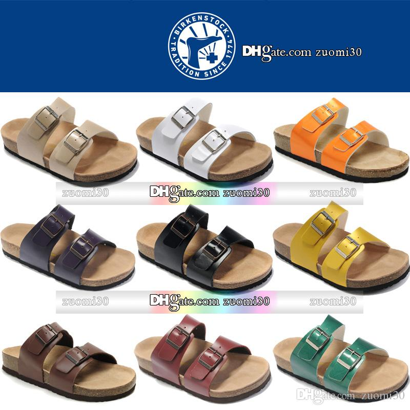 af488263f3949 Brand Birkenstock Flat Buckle Sandal Platform Open Toe Slippers ...