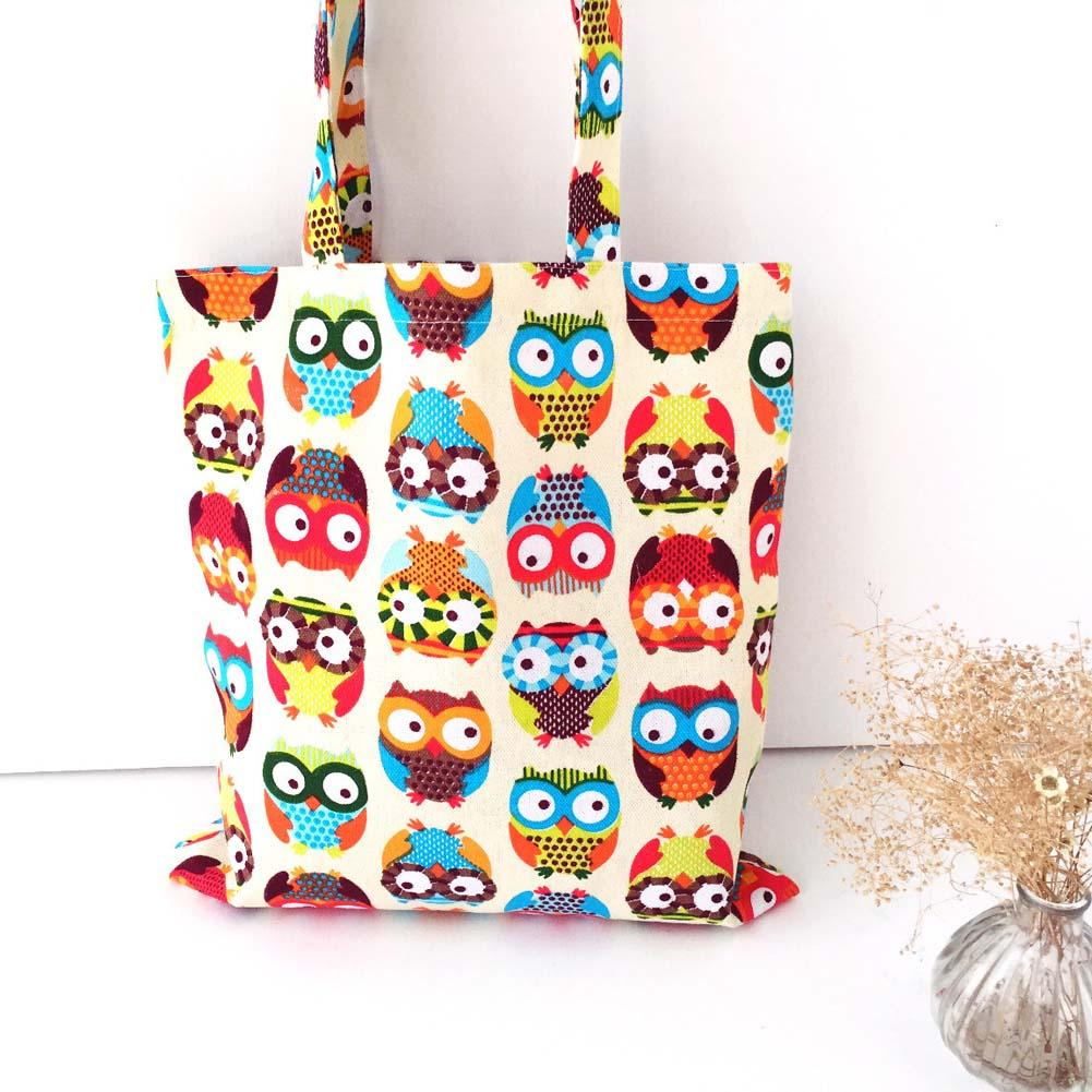 b93122c21c9 New Eco Reusable Shopping Bags Cloth Fabric Grocery Packing Recyclable Bag  Hight Simple Design Lovely Tote Handbag Fashion