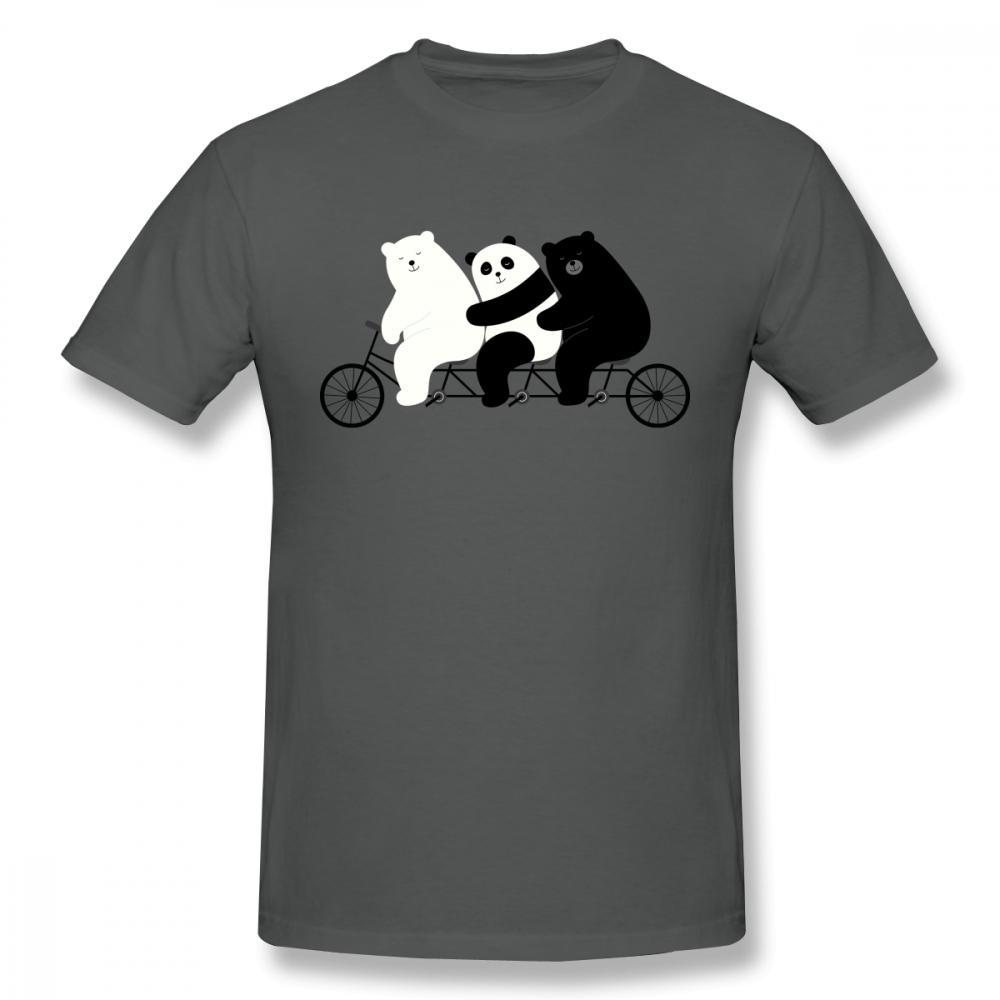 Polar Bear T Shirt Panda Tees Hot Sale Fashion Unique Design For