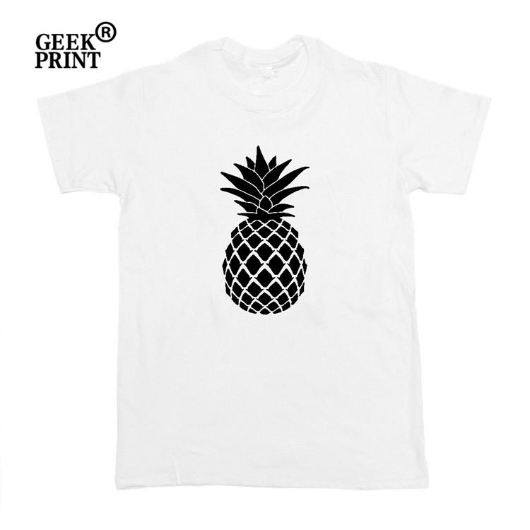 27cca214ea370 Women S Tee Pineapple Large Graphic Tee T Shirt Top Women Black White Grey  Funny Blogger Tumblr Gifts Shirt Site Printing Of T Shirt From Abmosstore