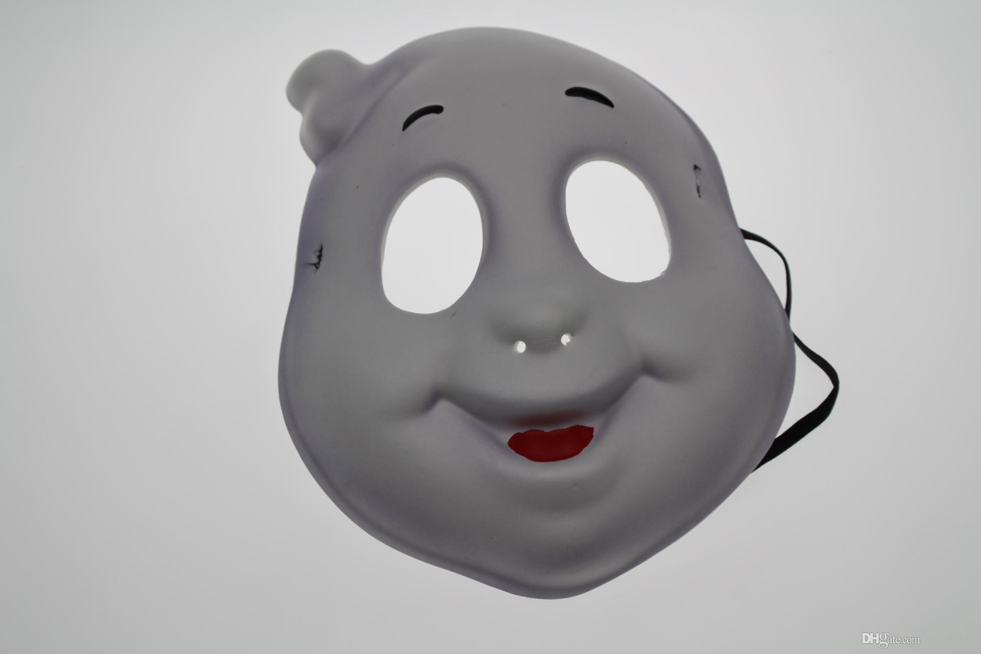Festa de Halloween vestido palco desempenho festival máscara Uma orelha branca fantasma máscara de festa de aniversário masquerade EVA ambientalmente amigável